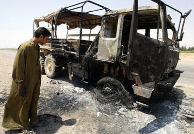 敌对武装人员,美军连日来在伊拉克部分地区实施