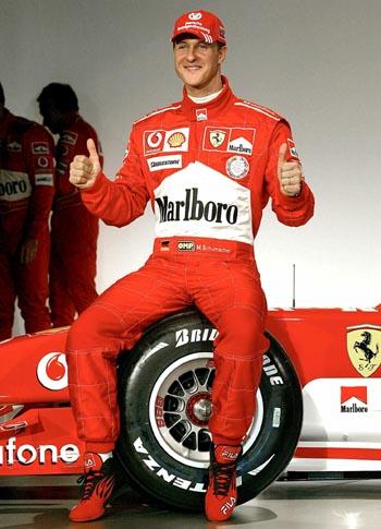 F1车手 迈克尔 舒马赫