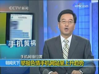 色情网站囗交片_[视频]举报色情手机网站呈上升趋势
