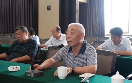 湖南国税听取机关离退休干部代表意见建议