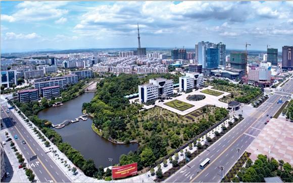 长沙经开区的中南第一城