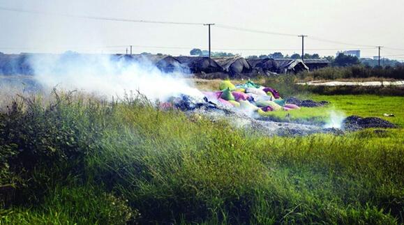 长沙整治大气污染 13起涉污燃烧行为被曝光