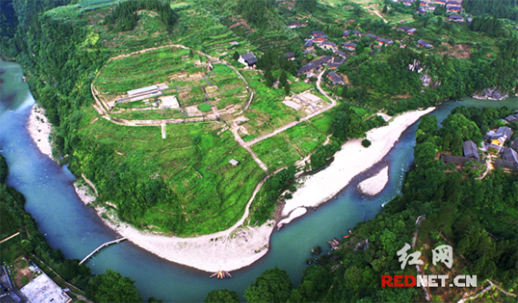 Laosi Town being the First World Heritage in Hunan