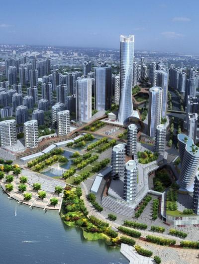 岳阳投资500亿8年打造洞庭新城