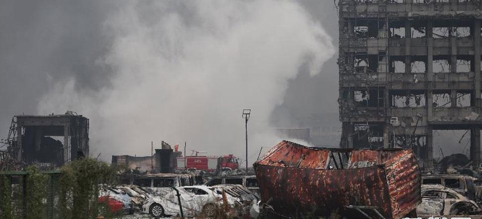 天津爆炸事故死亡人数已上升至104人