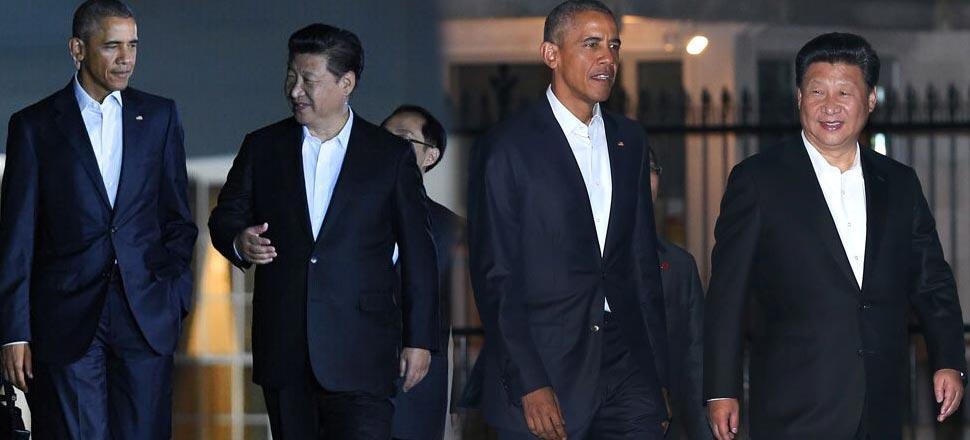 习近平出席奥巴马私人晚宴