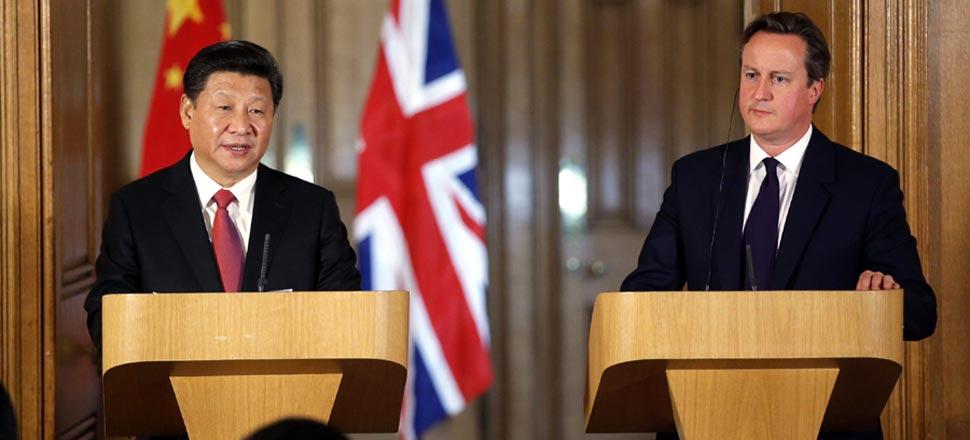 习近平同英国首相卡梅伦举行会谈
