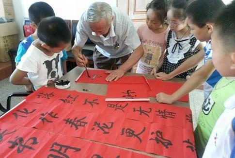 宁波:传承弘扬传统文化 书画诗歌助推文明创建