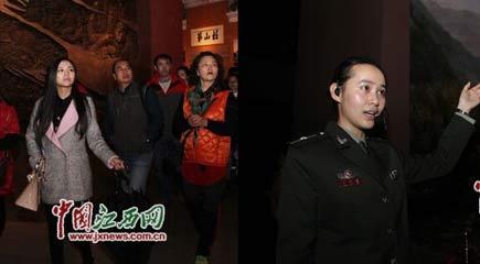 听江西革命烈士重孙女讲红色故事