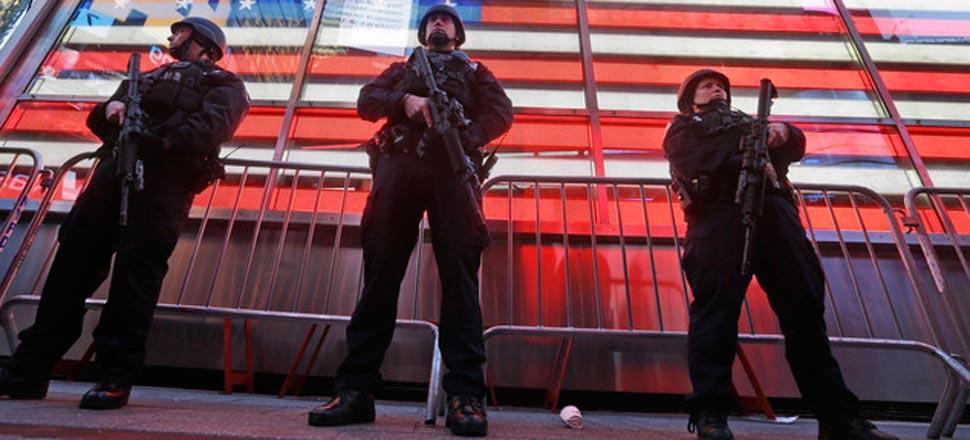 法国遭恐袭 意美英等国急增安保(组图)