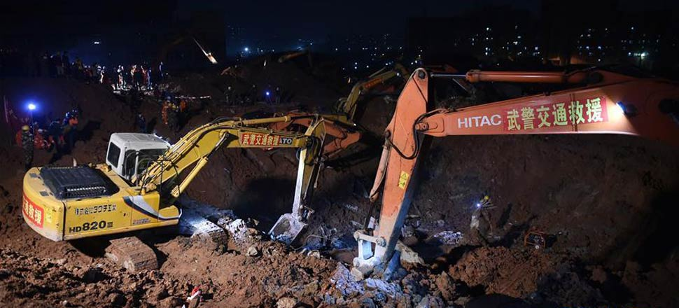 深圳滑坡灾害救援处置36小时全景扫描