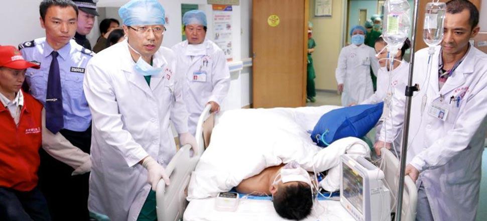 深圳滑坡灾害幸存者已出手术室