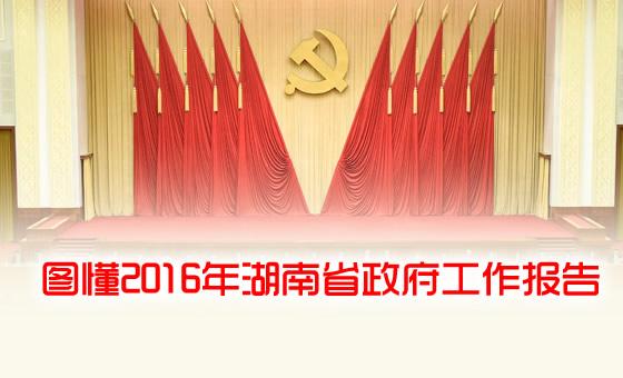 图懂湖南省2016年政府工作报告