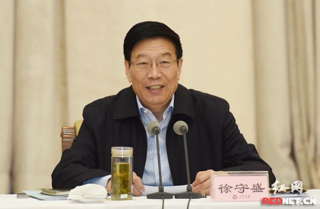 徐守盛参加政协联组讨论:共谋湖南改革发展稳定大计