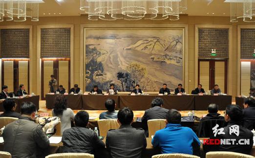 驻湘全国政协委员学习贯彻习总书记重要讲话精神
