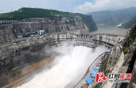大峡谷里崛起的地标――水电八局溪洛渡大坝工程建设纪实