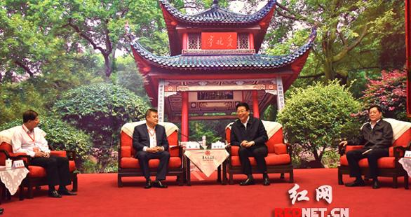 徐守盛杜家毫会见来湘合作的中央企业、金融机构和科研院校代表