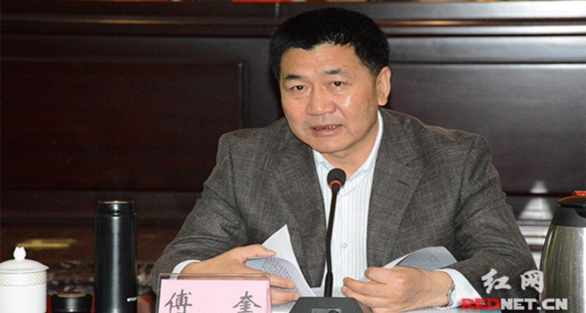傅奎:要从政治的高度认识和推动专项整治工作