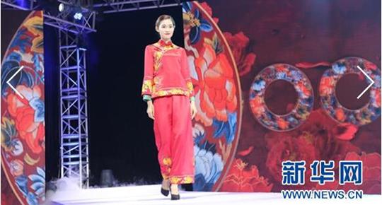 湖湘文化遗产创意T台秀 让传统工艺融入现代生活