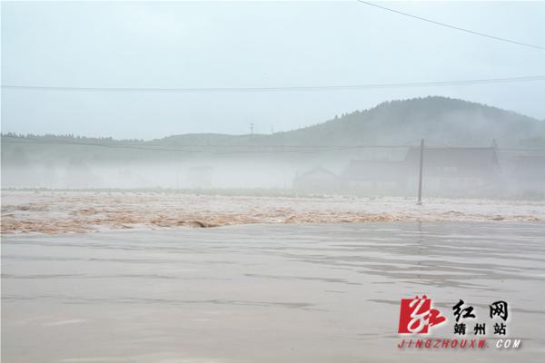 靖州暴雨成灾 干群奋力抗灾自救