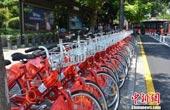 """杭州公共自行车添G20元素 引外宾成""""车粉""""(图)"""