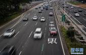 深圳首条多乘员车道正式启用并执法(图)