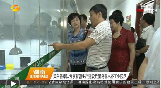 [视频]黄兰香率队考察新疆生产建设兵团乌鲁木齐工业园区