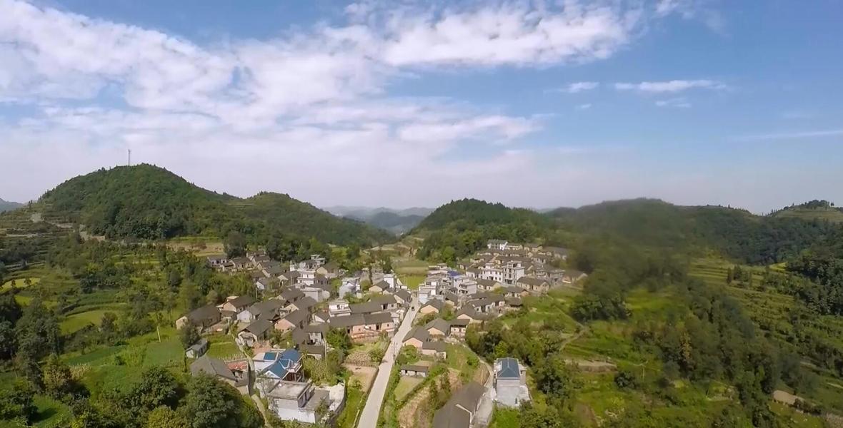 一年时间,雄龙村村庄变化翻天覆地。