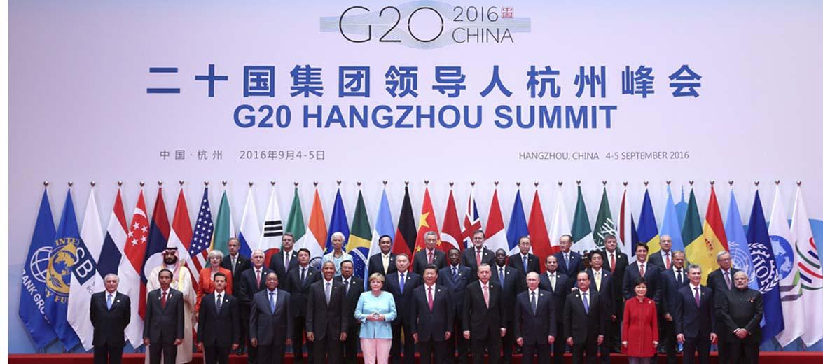 习近平出席二十国集团领导人杭州峰会并致开幕辞