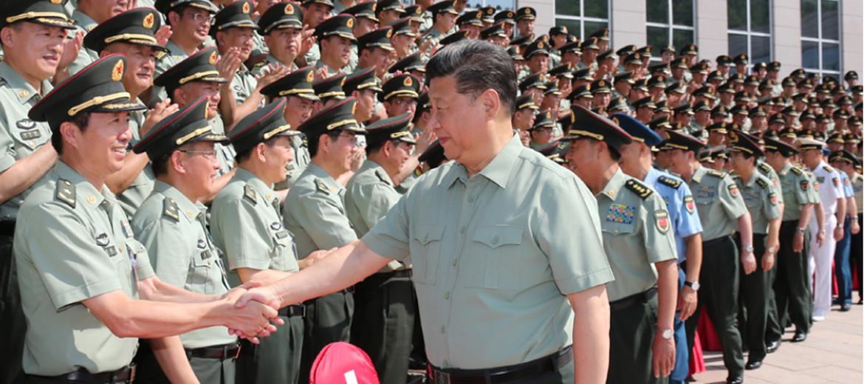 """习近平治国理政""""100句话""""之:努力建设一支强大的现代化新型陆军"""