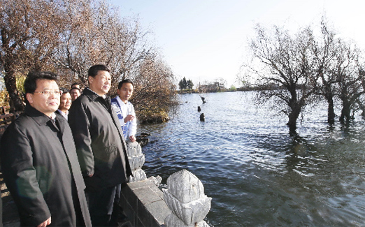 习近平:生态环境保护是功在当代、利在千秋的事业