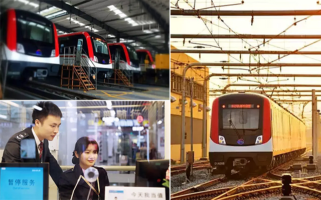 长沙地铁多措并举 为国庆长假平安出行保驾护航