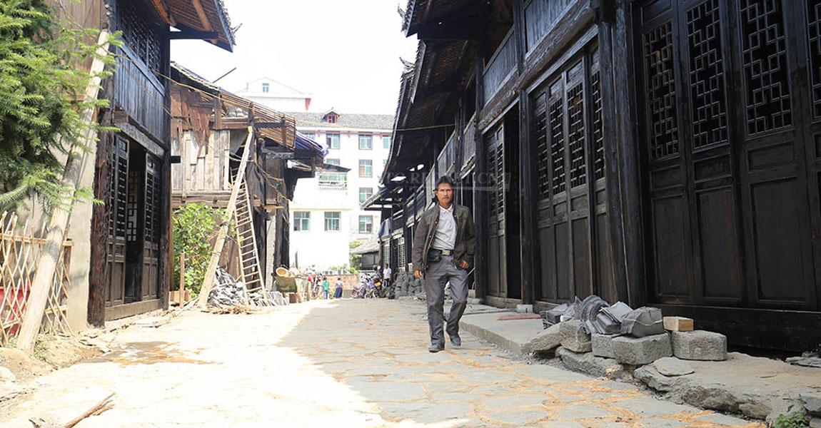 修旧如旧的红军街,即将成为景点。