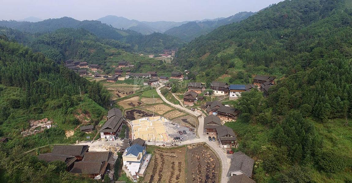 通道县全景图