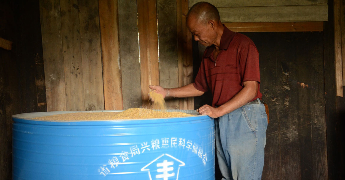 通过引入优质稻,农民的米可以卖出更好的价格。