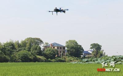全国第三次农业普查将测量湖南74县 无人机浏阳首秀