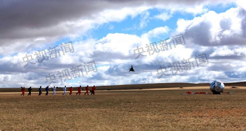 独家组图:神舟系列飞船主着陆场系统救援演练迎神舟