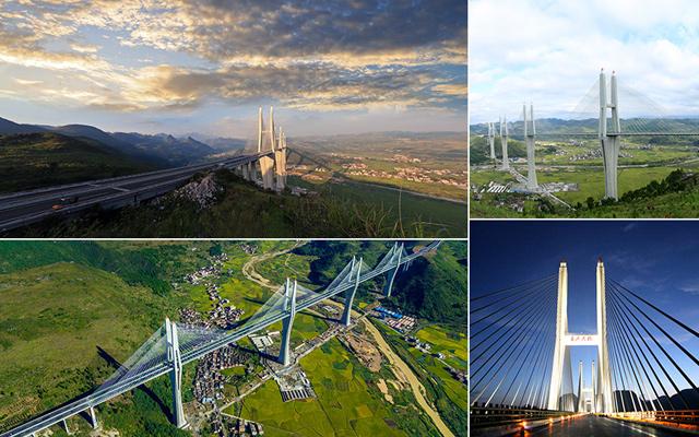 汝郴高速赤石特大桥通车 厦蓉高速湖南段全线贯通
