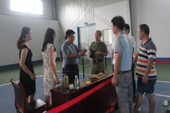 湖南省粮食局副局长周辉检查指导竞赛选手集训工作