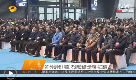 [视频]2016中国中部(湖南)农业博览会在长沙开幕 乌兰出席