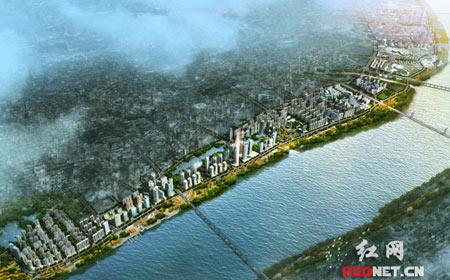 """湘潭着力两型发展 未来5年将打造""""城在林中""""城市"""