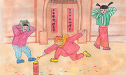 Chinese paintings bring old Changsha back to life