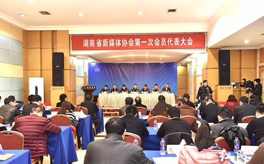 """""""新媒体湘军""""正式启航 湖南省新媒体协会成立"""
