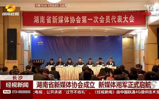 [视频]湖南省新媒体协会成立