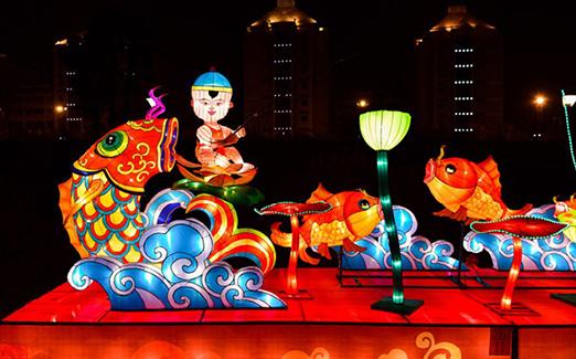 株洲市新年灯会正式开园 让市民乐享新春