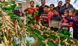 Palm weaving exhibit celebrates Year of the Rooster