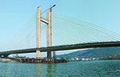 娄底冷水江市新城大桥合龙