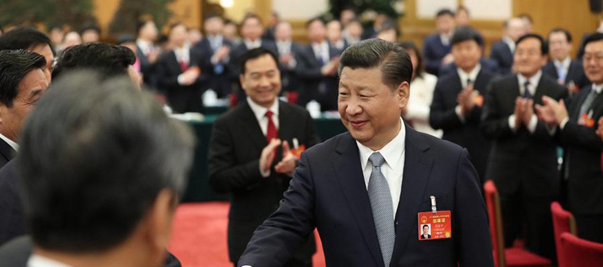 习近平参加辽宁代表团审议