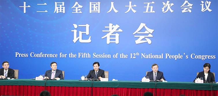 回放:商务部长谈改革开放调结构创新驱动