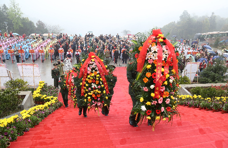 """湖南启动""""我的中国梦·清明祭英烈""""主题教育活动"""